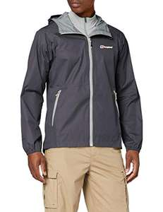 Amazon: Berghaus Deluge - Chamarra impermeable para hombre (extra chica)
