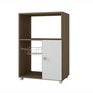 Elektra Mueble para Microondas Potenzzo BF11-47 Roble con Blanco