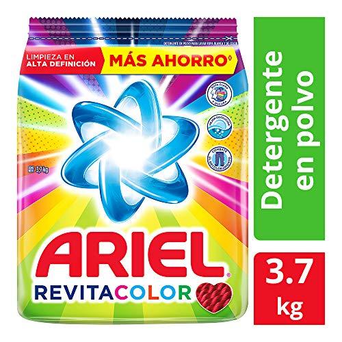 AMAZON: Ariel Revitacolor Detergente En Polvo 3.7kg