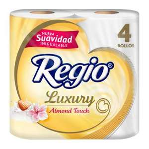 Amazon: Regio Papel Higiénico Luxury Almond Touch