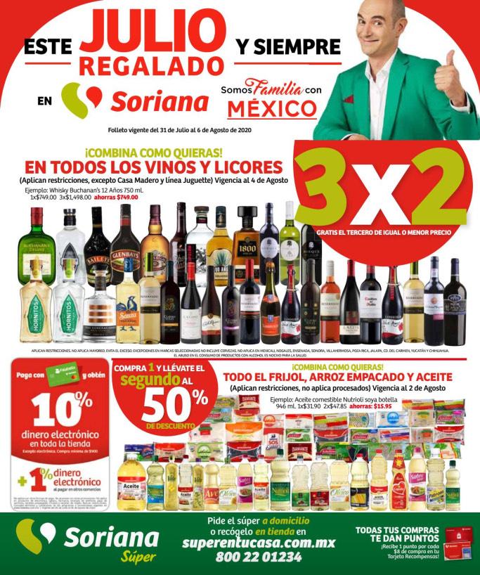 Julio Regalado 2020 en Soriana: 9no y Último Folleto de Ofertas de Soriana Súper