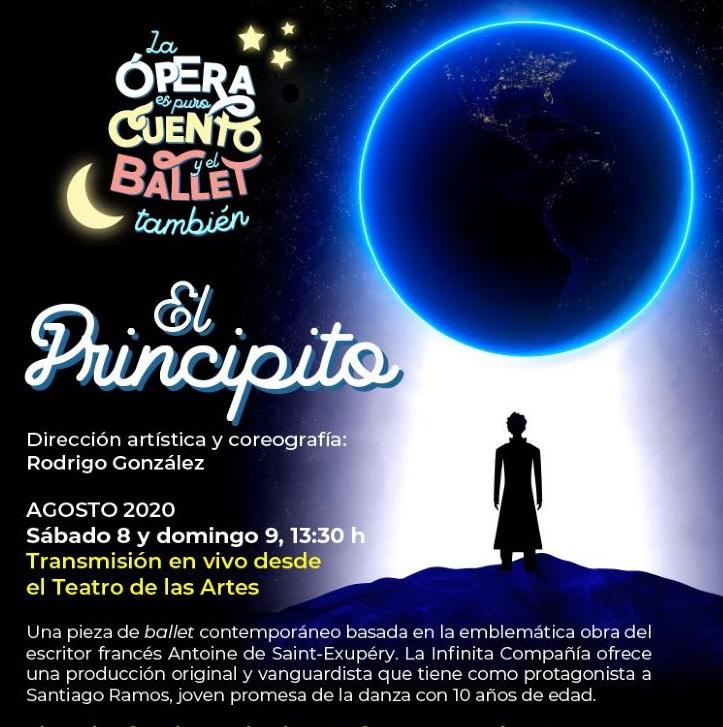 """Cenart: GRATIS Ballet de """"El Principito"""" Livestream"""