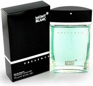 Amazon Mx: Mont Blanc Presence, EDT, 75 ml