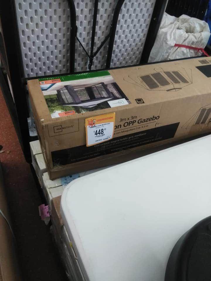 Walmart Toldo 3x3 con mosquitero es última liquidación