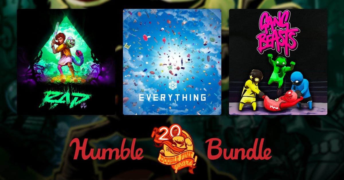 Humble Bundle: Double Fine 20th Year Anniversary