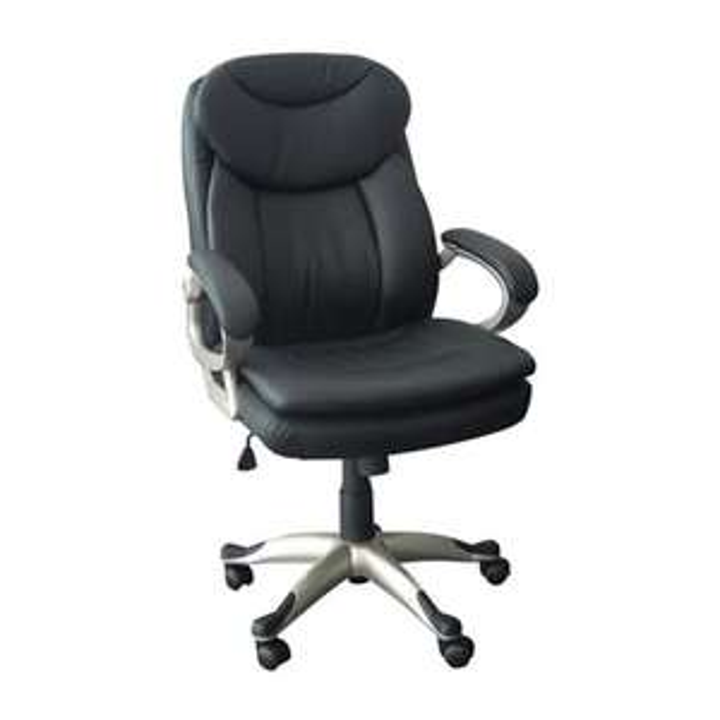 Office Max: Silla ejecutiva polipiel negra