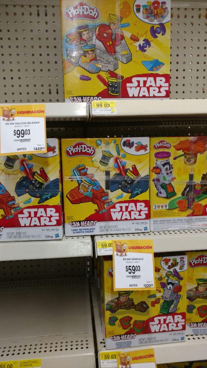 Walmart: Juguetes Play Doh y Sartenes Oster, Main Stays en liquidacion