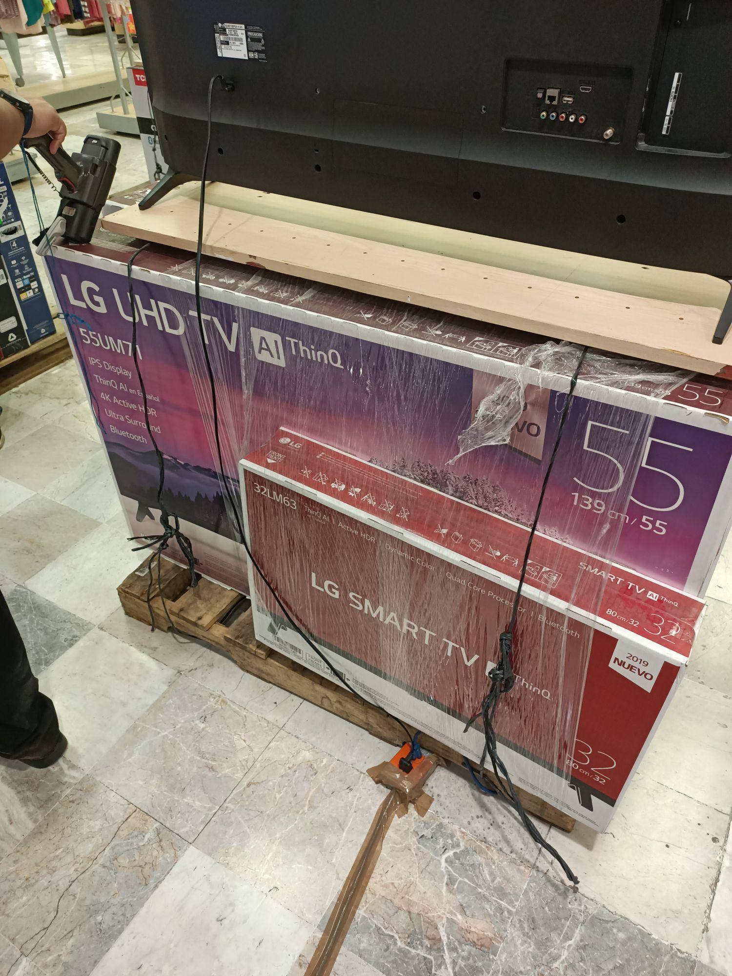 "Suburbia: Pantalla LG 55"""