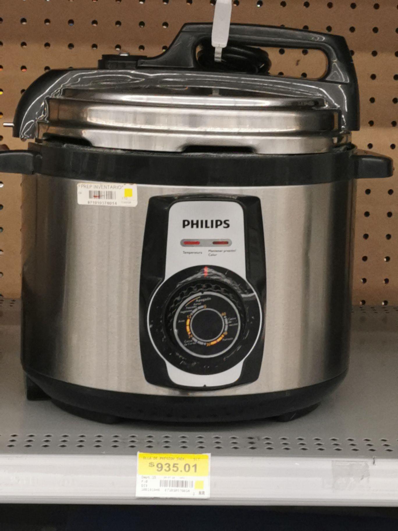 Walmart: Olla de presion Philips