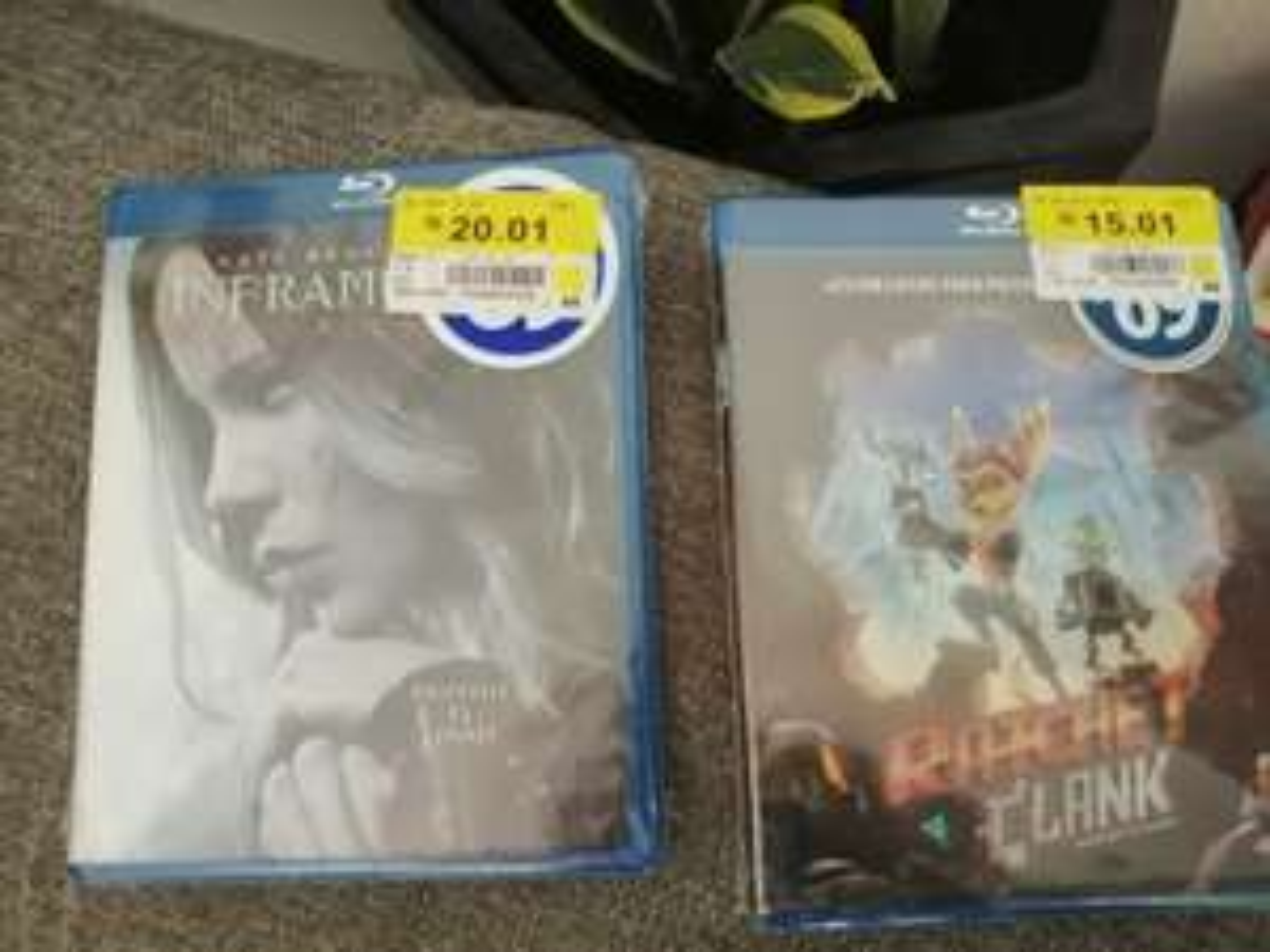 Walmart: Películas Blu Ray y dvd