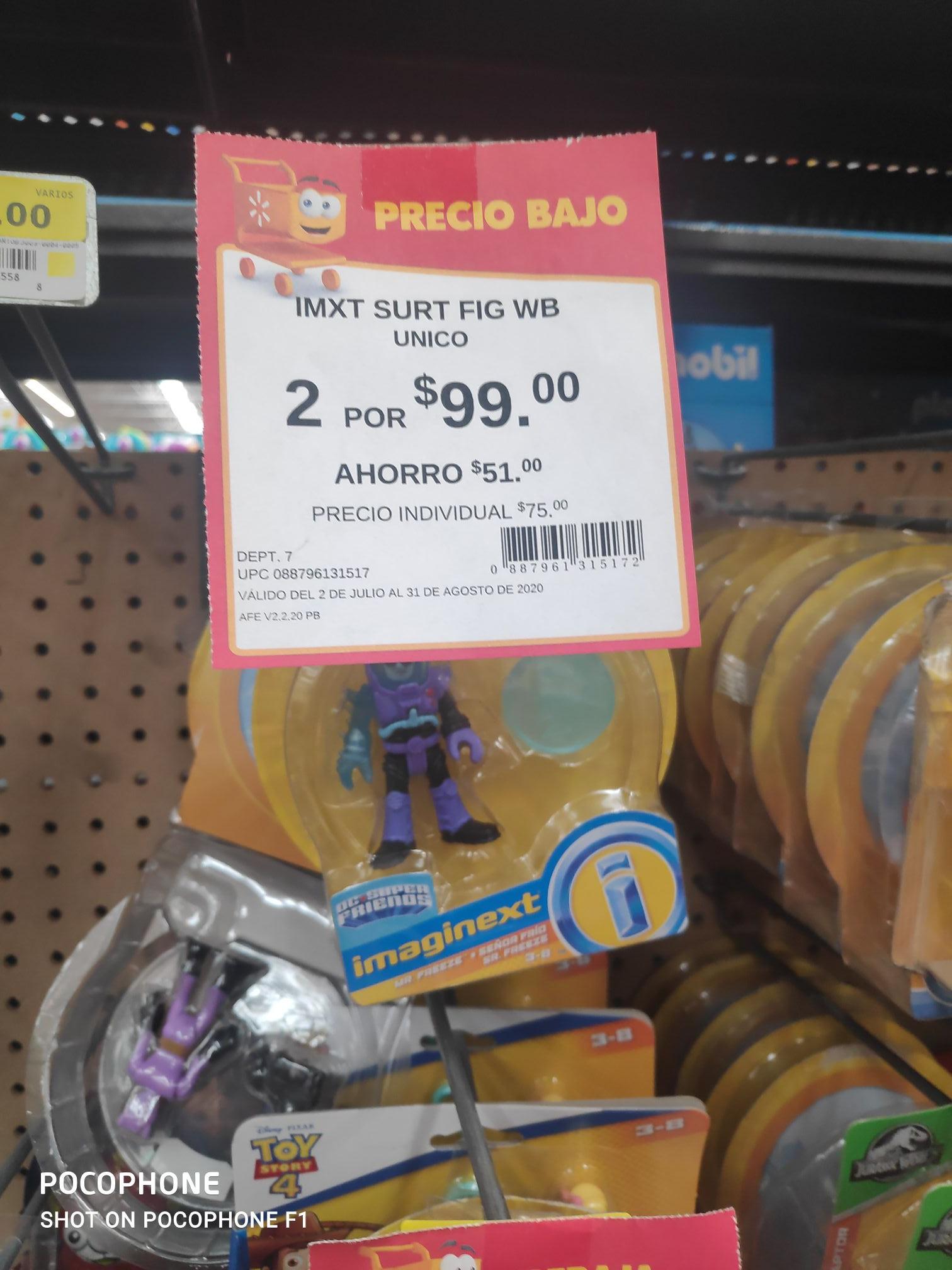 Walmart: Juguetes imxt Fig wb