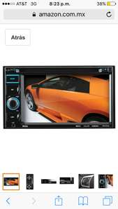 Amazon: AutoEstereo boss con pantalla, DVD, USB etc a $1,501