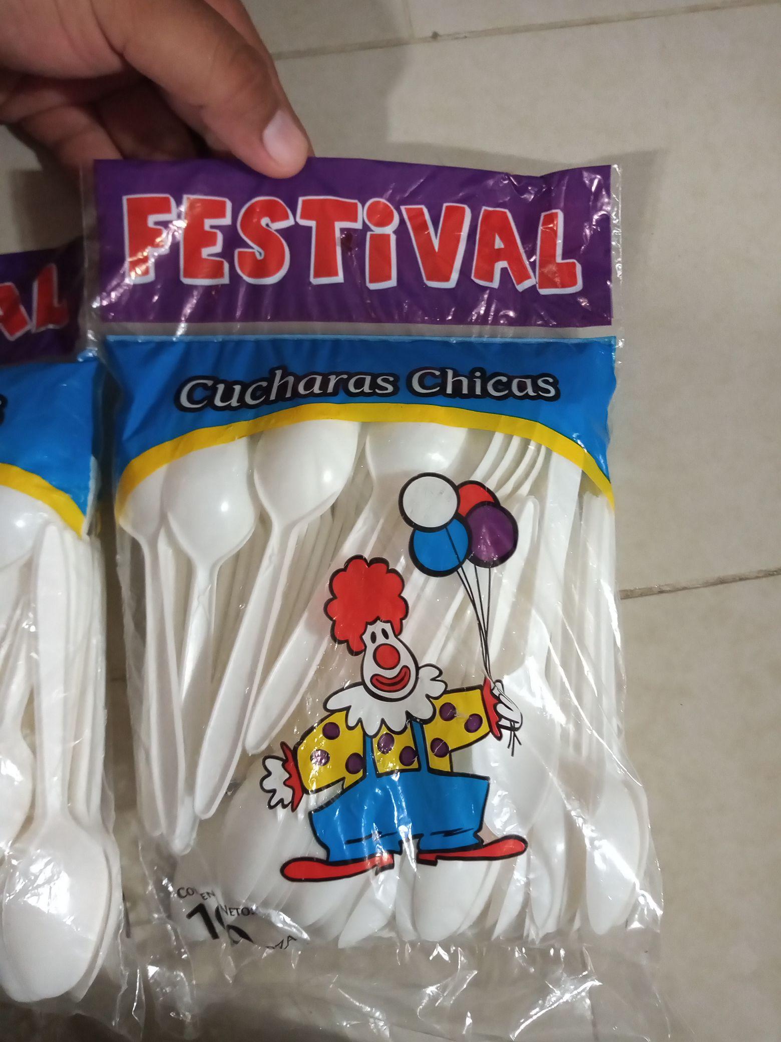 Bodega Aurrerá: 100 cucharas Marca Festival y más
