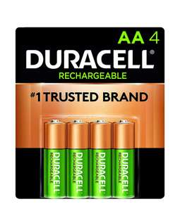Amazon: Pilas Recargables AA Duracell