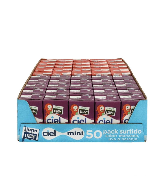 Sam's Club: agua ciel mini 50 piezas de 125 ml