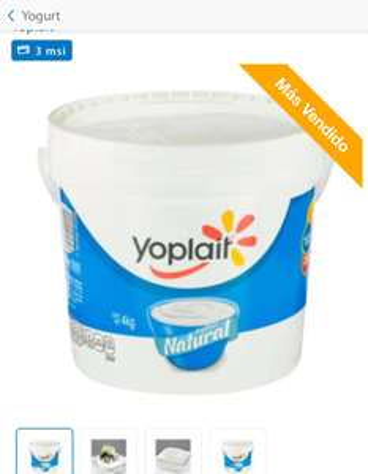 Sam's club: Yogurt Yoplait Batido Natural 4 kg