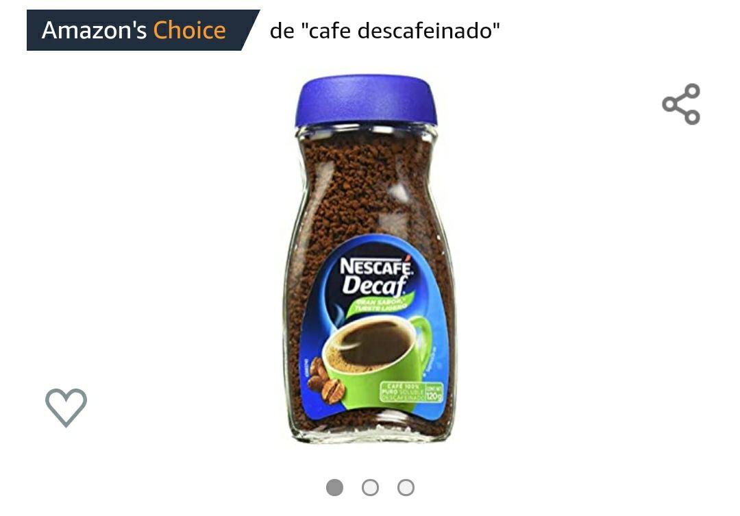 Amazon - Nescafé Café Decaf 120gr