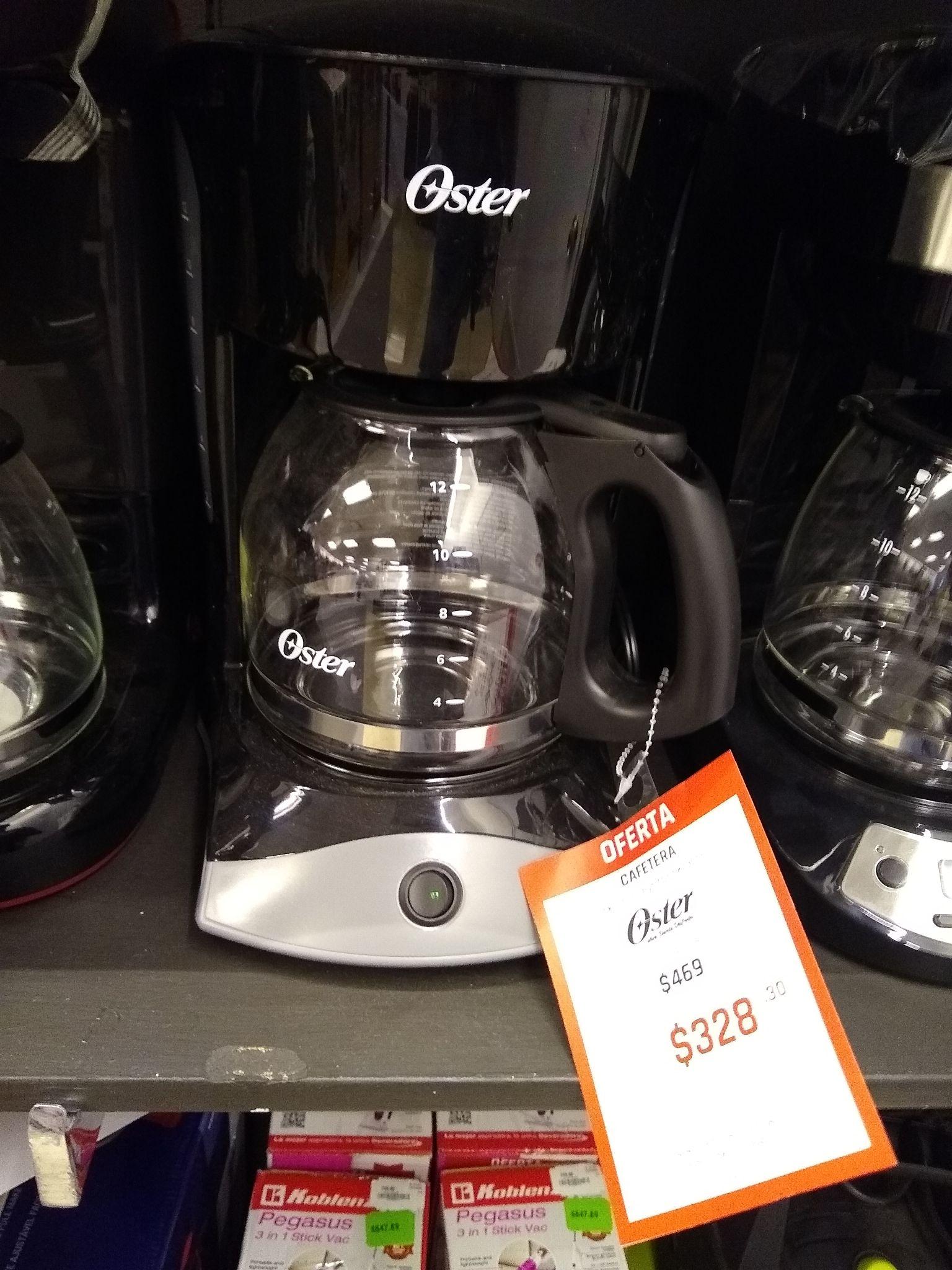 Suburbia: Cafetera Oster 12 tazas