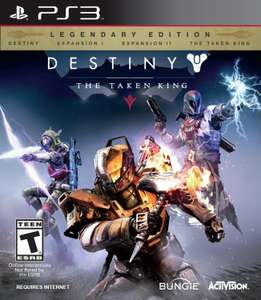 Amazon MX: Destiny The Taken King Legendary Edition para PS3 y Xbox 360 a $399