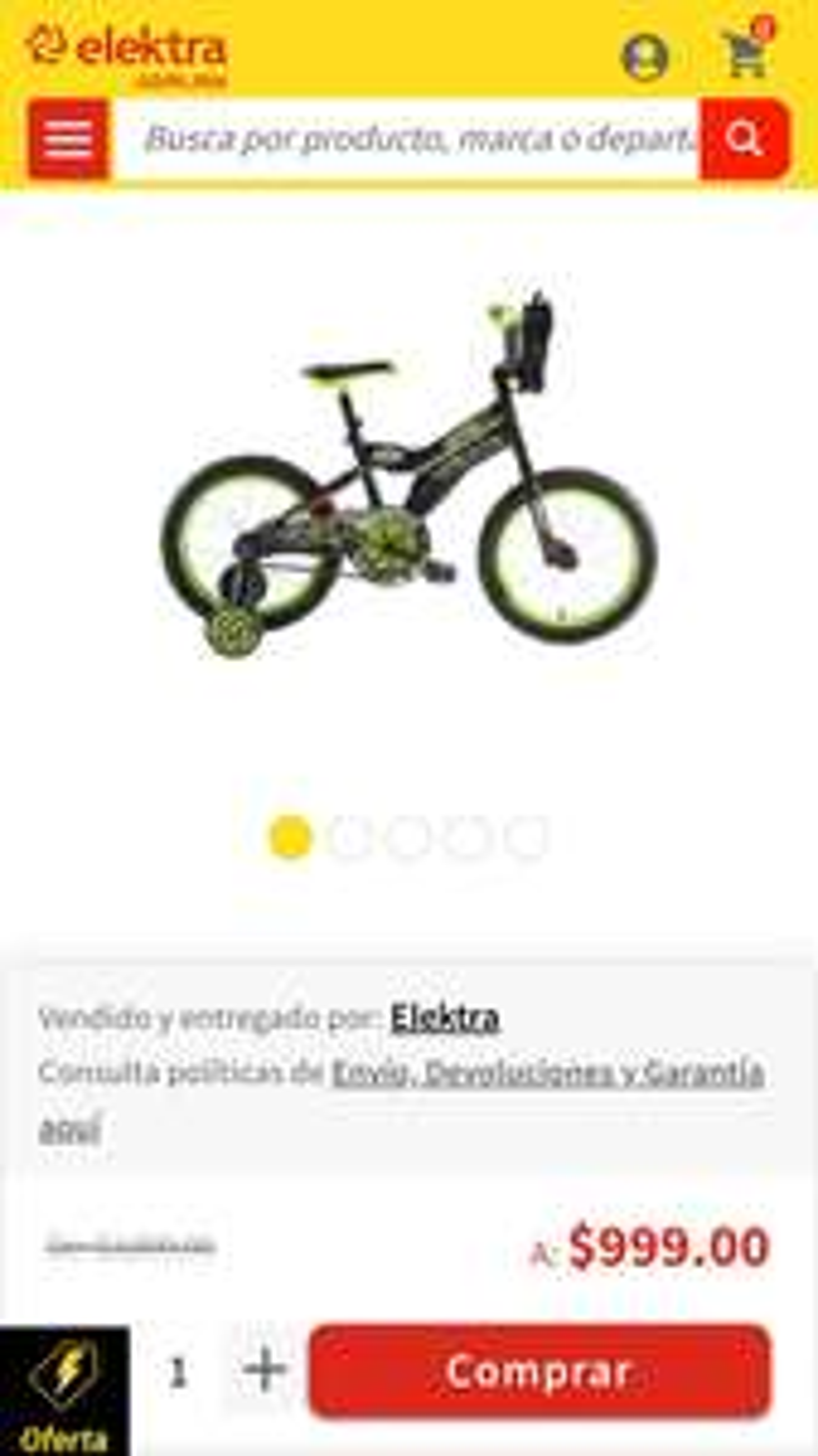 Elektra: Bicicleta Mongoose Ninja Turtle R16