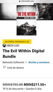 Microsoft Store: The Evil Within Digital Bundle Xbox one
