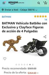 Amazon: BATMAN set de figuras