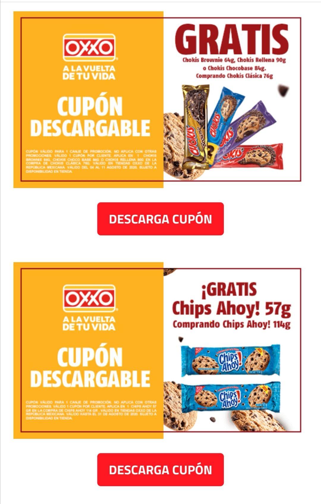 Oxxo: cupones en galletas