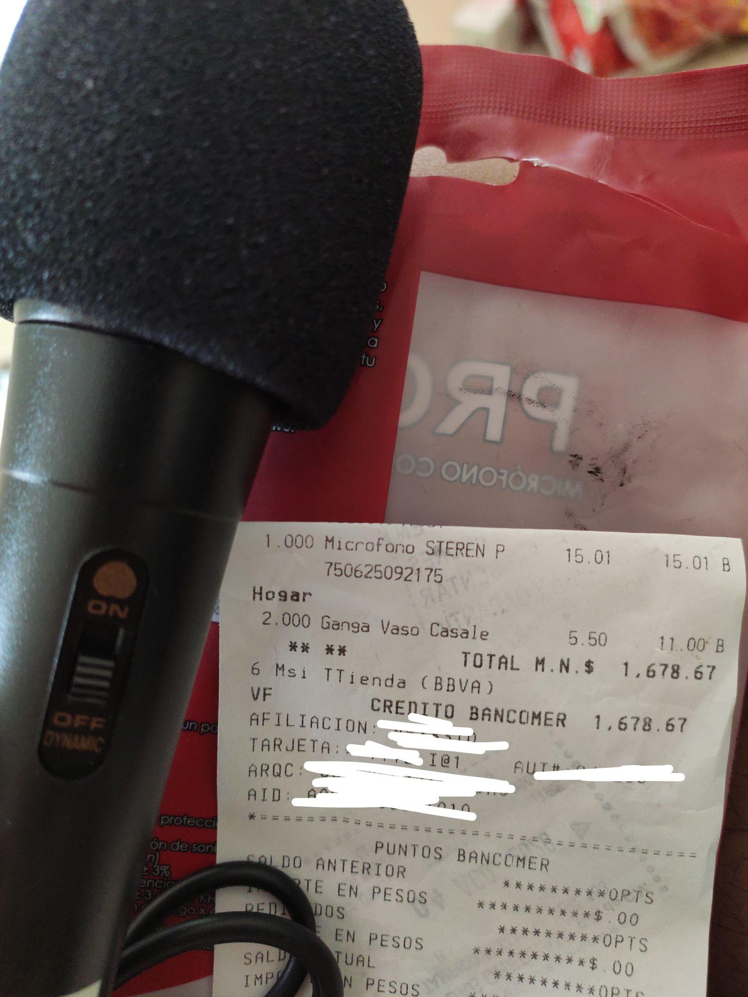 Chedraui: Micrófono STEREN PROAM