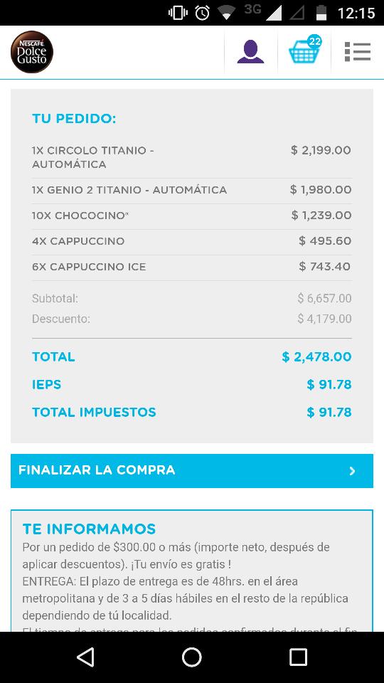 Dolce Gusto: Pack Oficina 2 Cafeteras Dolce Gusto gratis en la compra de 20 cajas de cápsulas