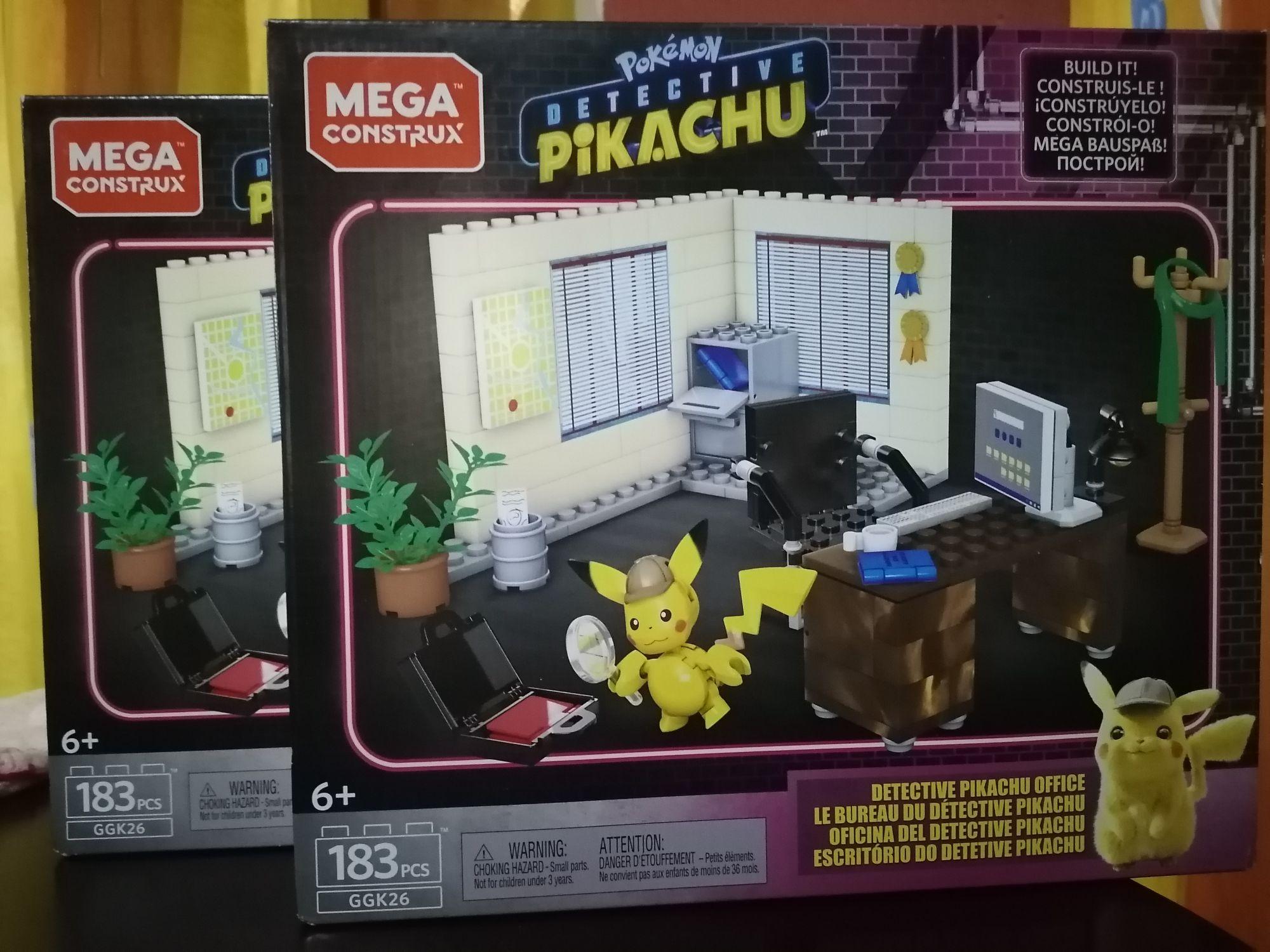 Bodega Aurrerá : Mega Construx. Oficina del detective Pikachu
