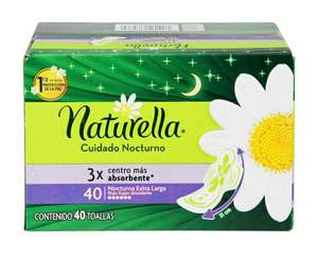 Sam's Toallas femeninas Naturella Nocturna 80pzas