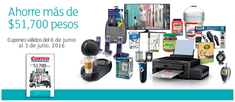 Folleto de ofertas en Costco del 6 de junio al 3 de julio