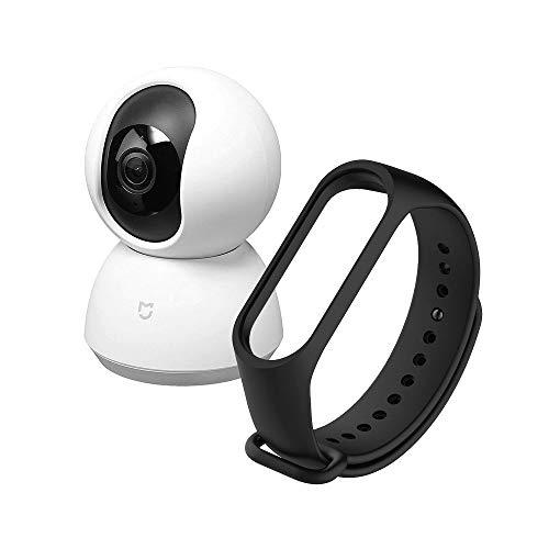 Amazon: Xiaomi Mi Home Security Camera 360° + Mi Smart Band 3/4 Strap