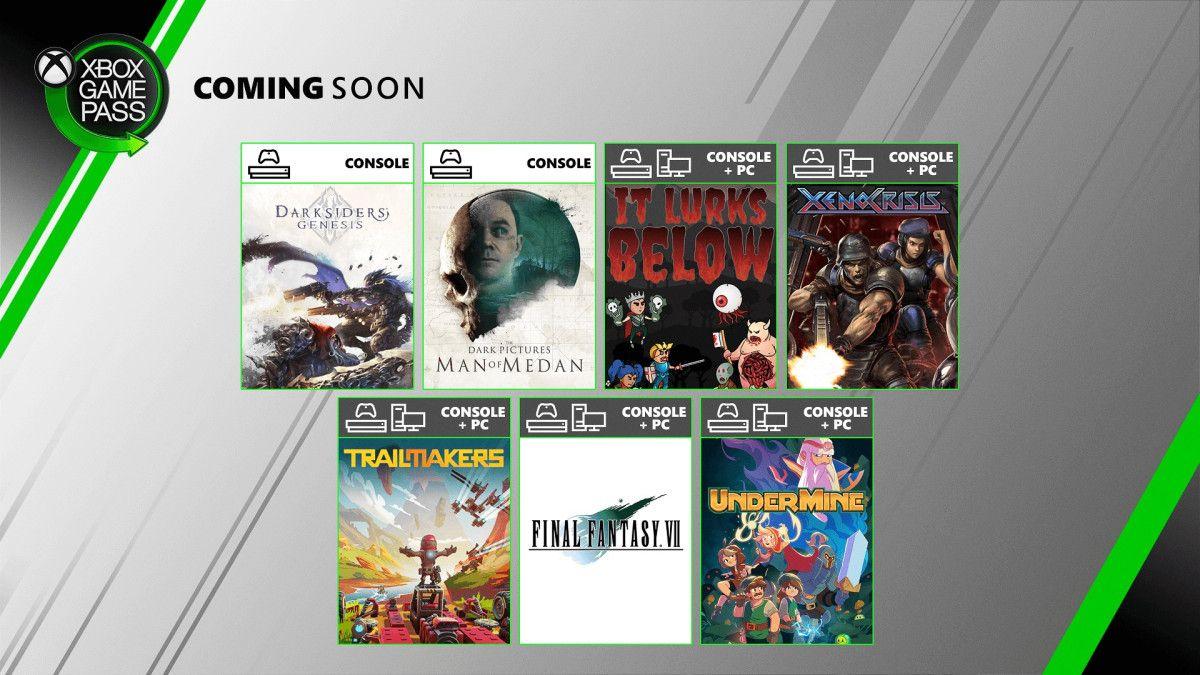 Xbox: Nuevos juegos Game Pass de Agosto