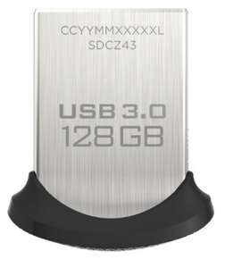 Amazon: memoria USB 3.0 SanDisk Ultra Fit 128Gb importación