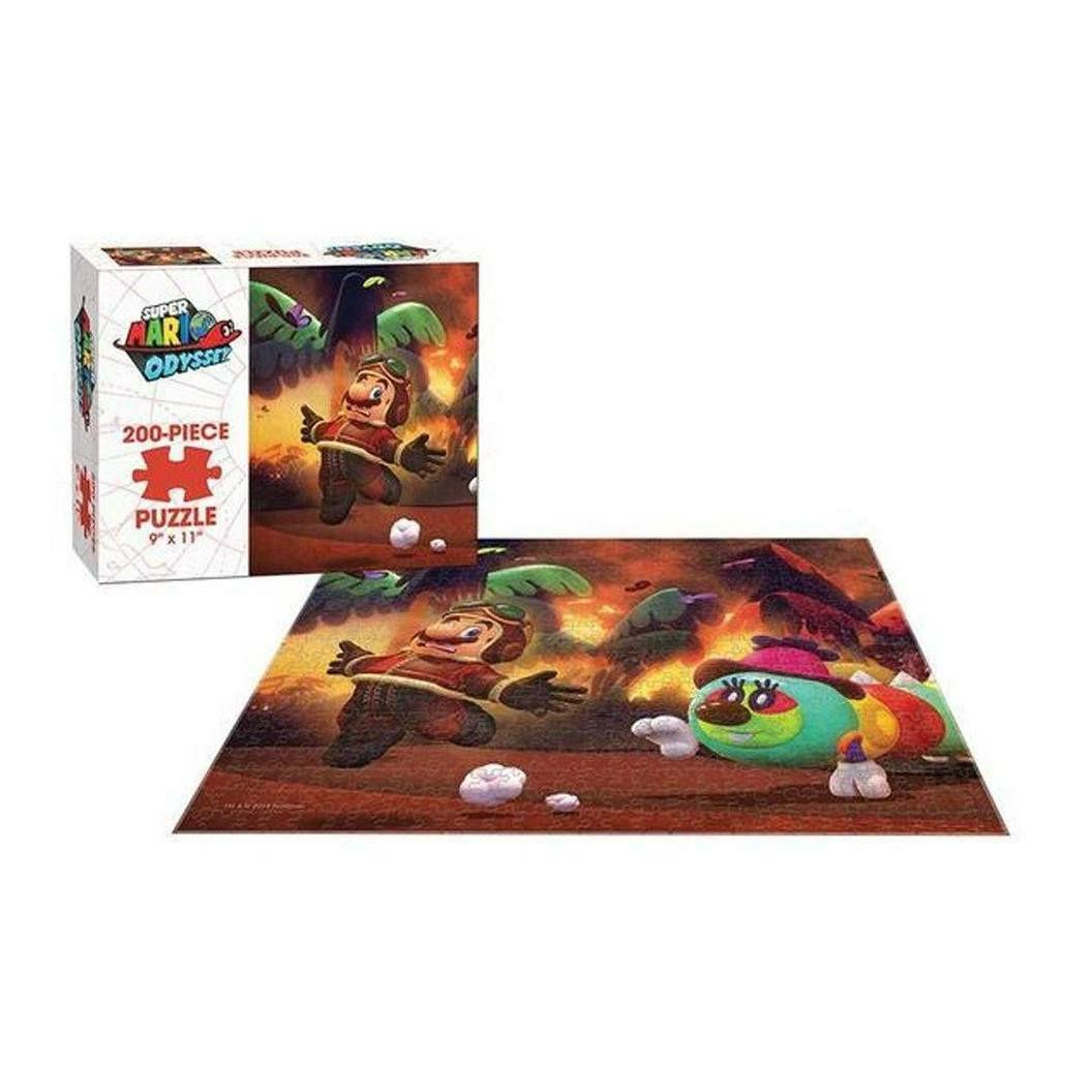 EpicLand: ROMPECABEZAS SUPER MARIO ODYSSEY 200 piezas (4 modelos diferentes) gratis