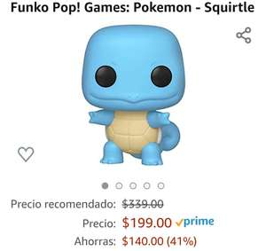 Amazon: FUNKO POKEMON SQUIRTLE