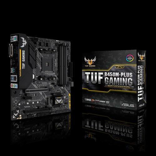 zegucom: Tarjeta Madre Asus Tuf B450m-plus Gaming, Socket Am4,