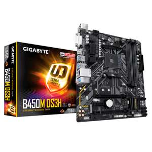 DigitaLife - Motherboard GIGABYTE B450M DS3H Socket AM4 Micro ATX