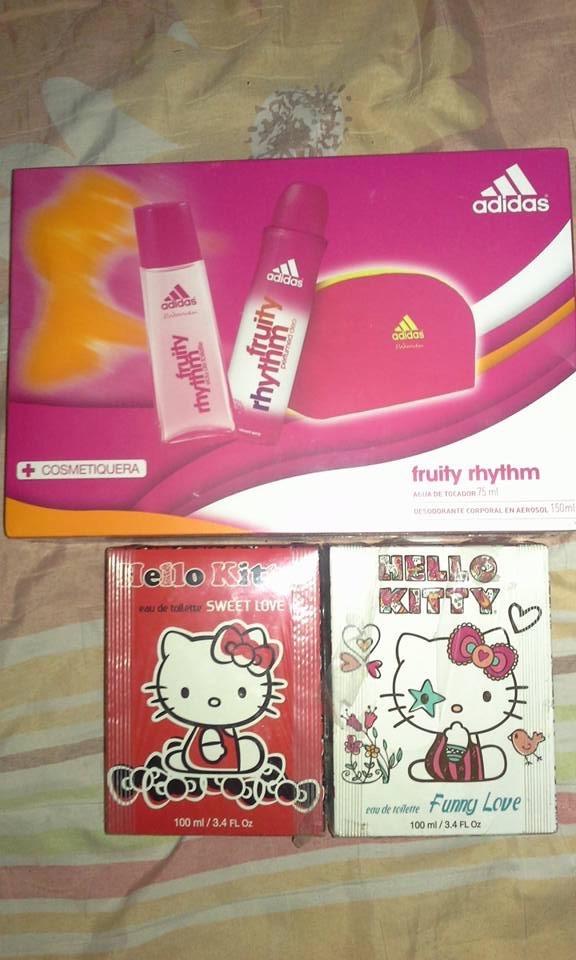 Chedraui Champotón: perfume Adidas a $21.80, perfume Hello Kitty a $16.25, $17.20