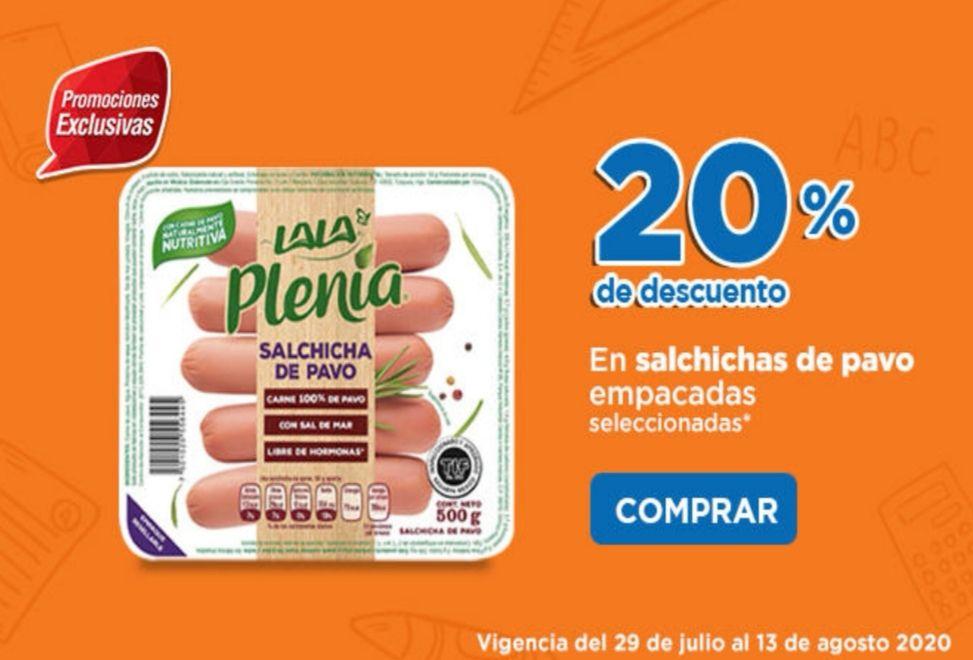 Chedraui: 20% de descuento en salchichas de pavo empacadas seleccionadas