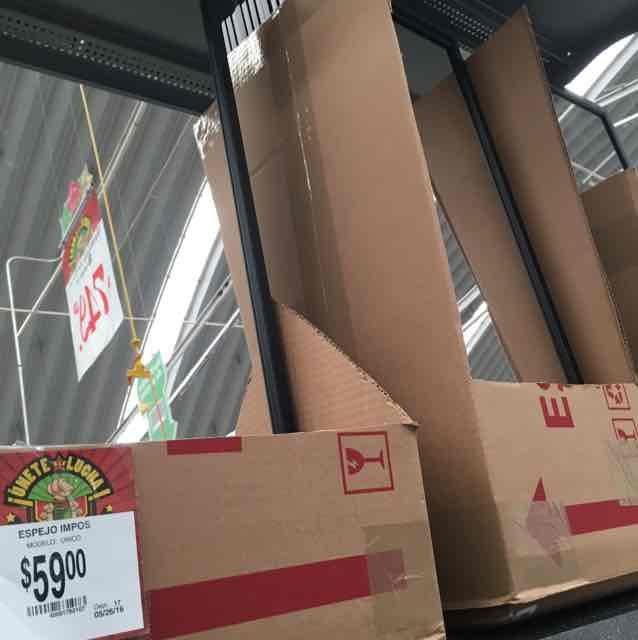 Bodega Aurrerá: Espejo marca Impos a $59