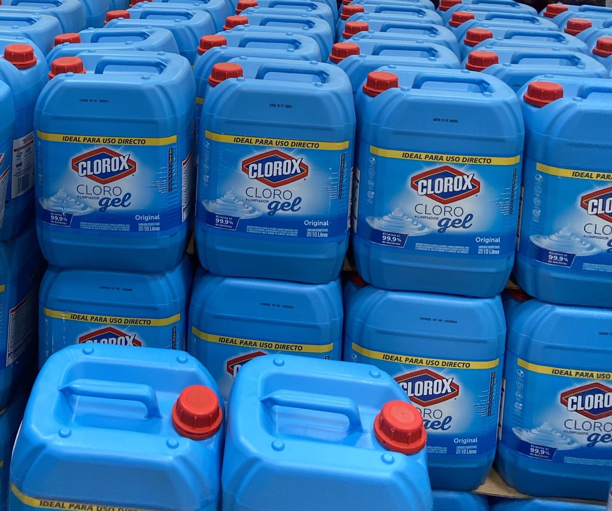 Costco: cloro en gel 10 litros