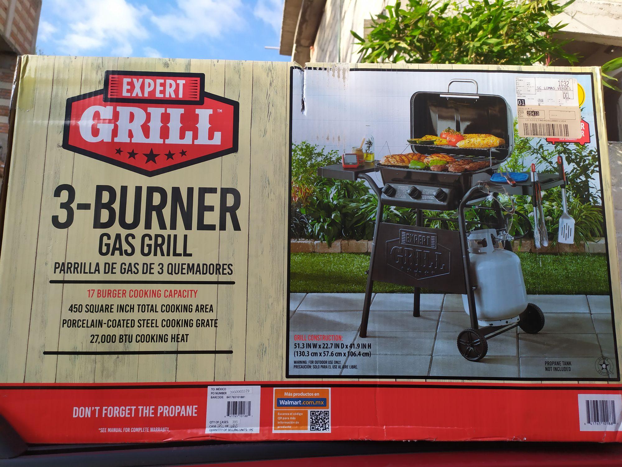 Walmart: Asador de gas última liquidación
