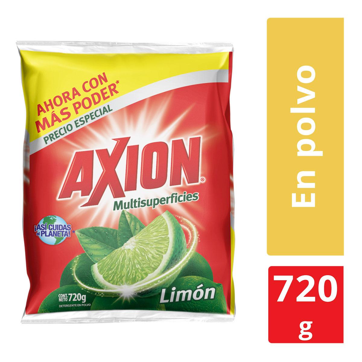 Chedraui: lavatrastes Axion 720 gr en polvo