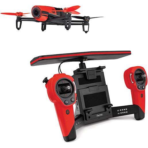 Soriana en línea: Drone Parrot BeBop Quadcopter Rojo con SkyController de $26,999 a $13,999