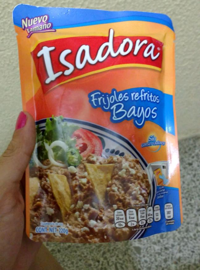 Bodega Aurrerá: Frijoles Isadora 220 gramos.
