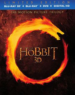 Mixup: Trilogía El Hobbit - Bluray 3D + Bluray + DVD + Digital Copy