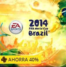 PlayStation Store: 2014 FIFA World Cup Brazil desde 15 dólares