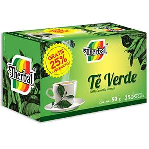 Amazon: Té verde 25pzas